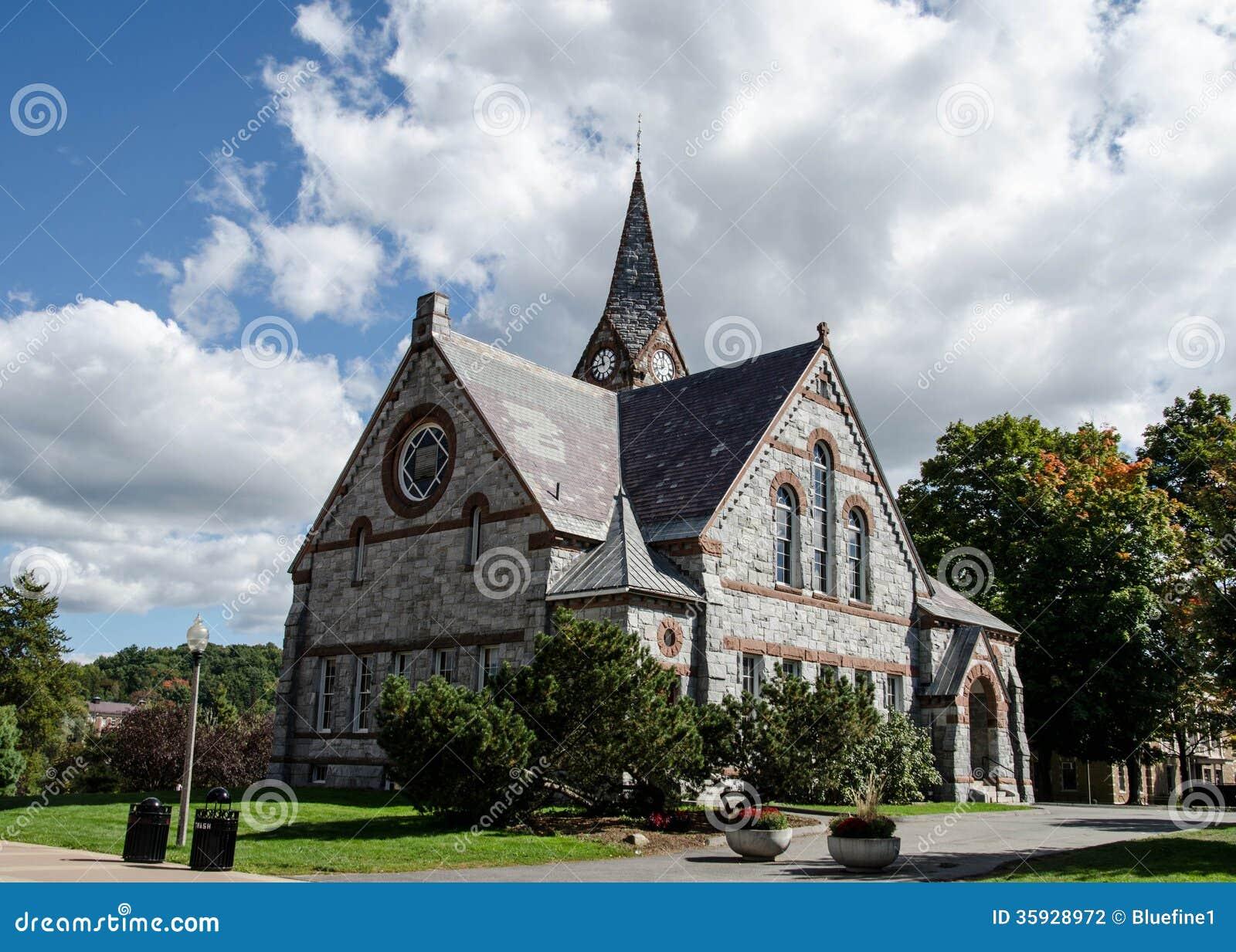 Alte Kapelle UMass Amherst