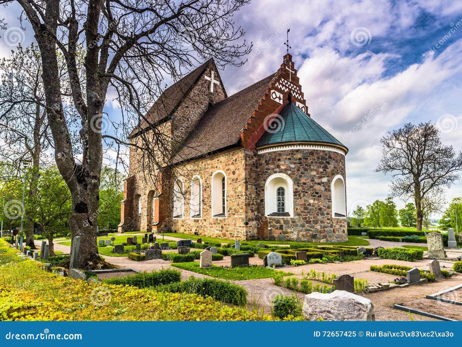 Alte Kirche von Gamla Uppsala, Schweden