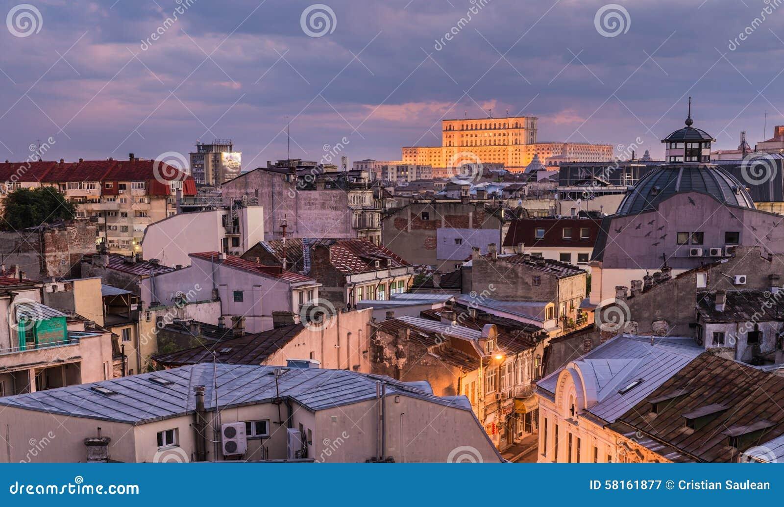 Alte Mitte von Bukarest