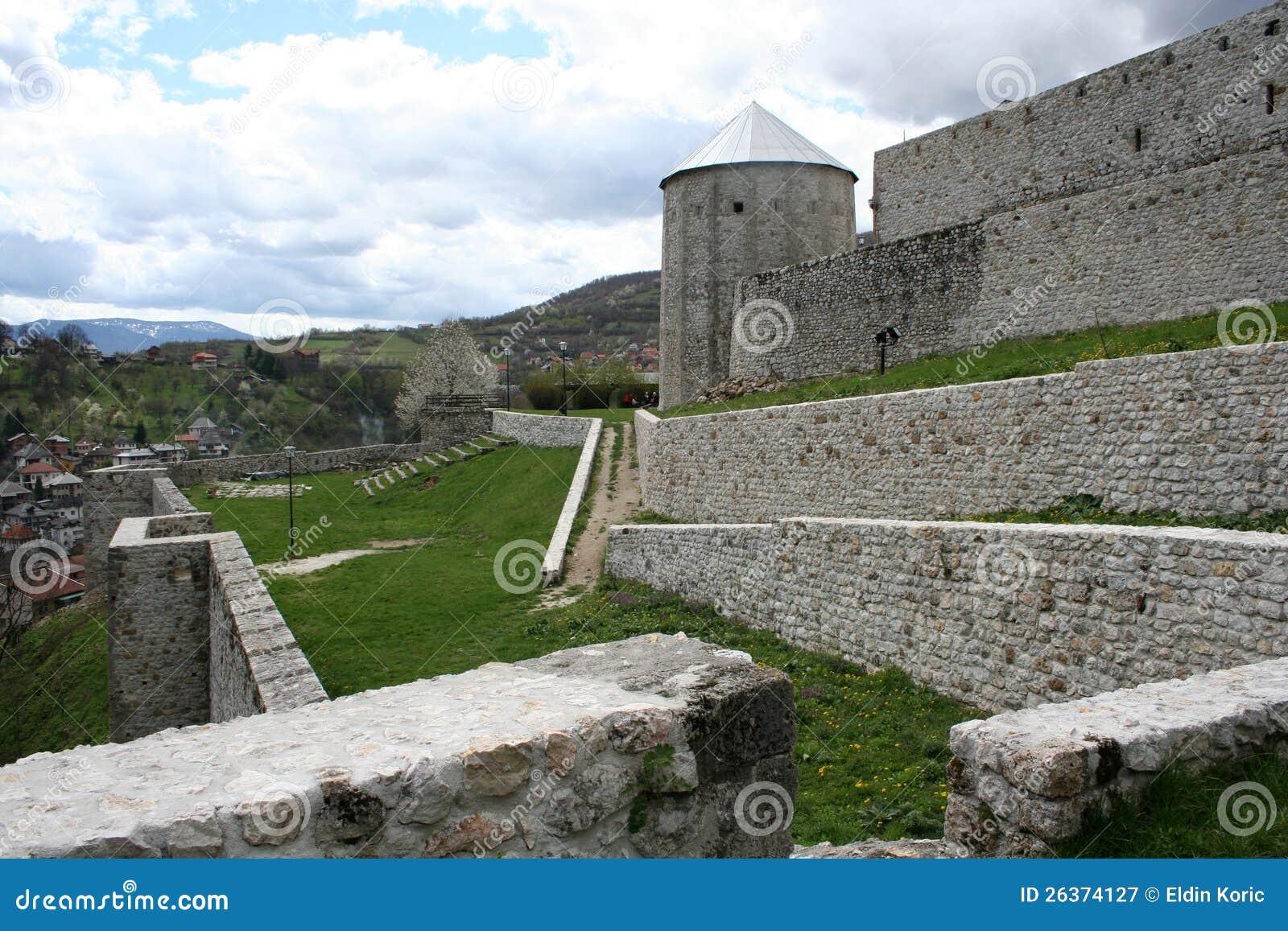 Alte mittelalterliche Stadt Travnik