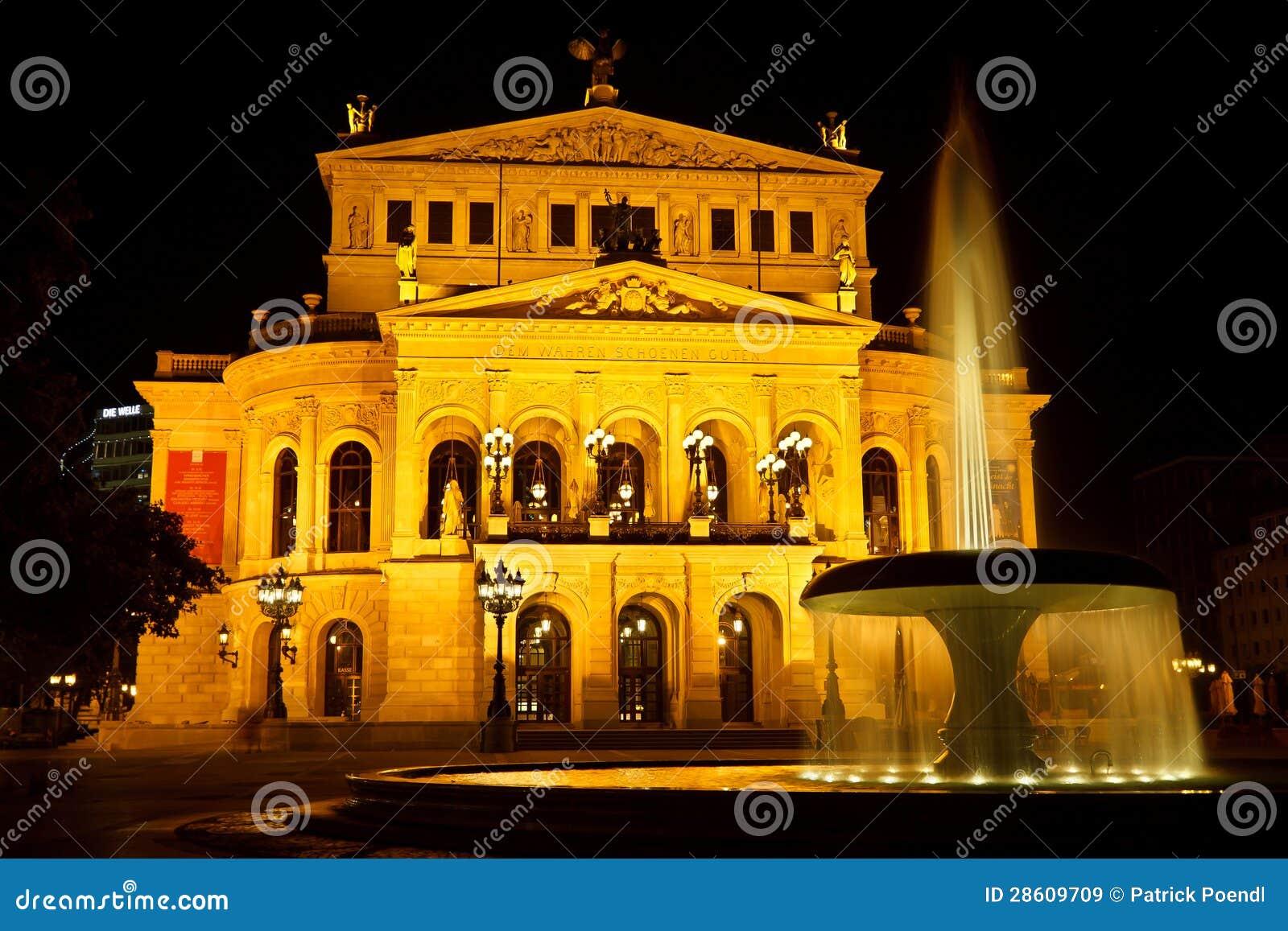 Alte Oper στη Φρανκφούρτη, Γερμανία