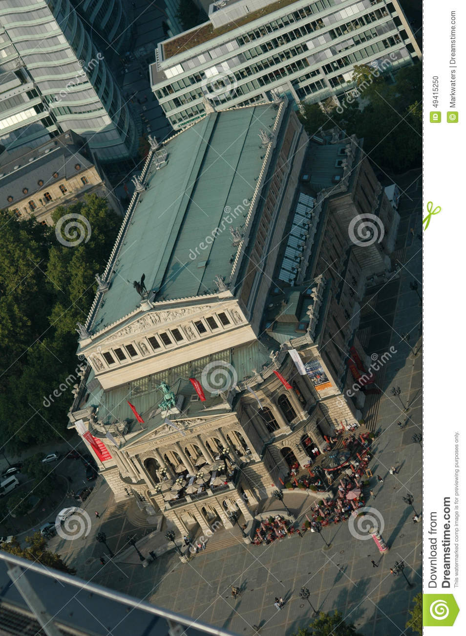 Download Alte Operation Frankfurt redaktionelles bild. Bild von oper - 49415250