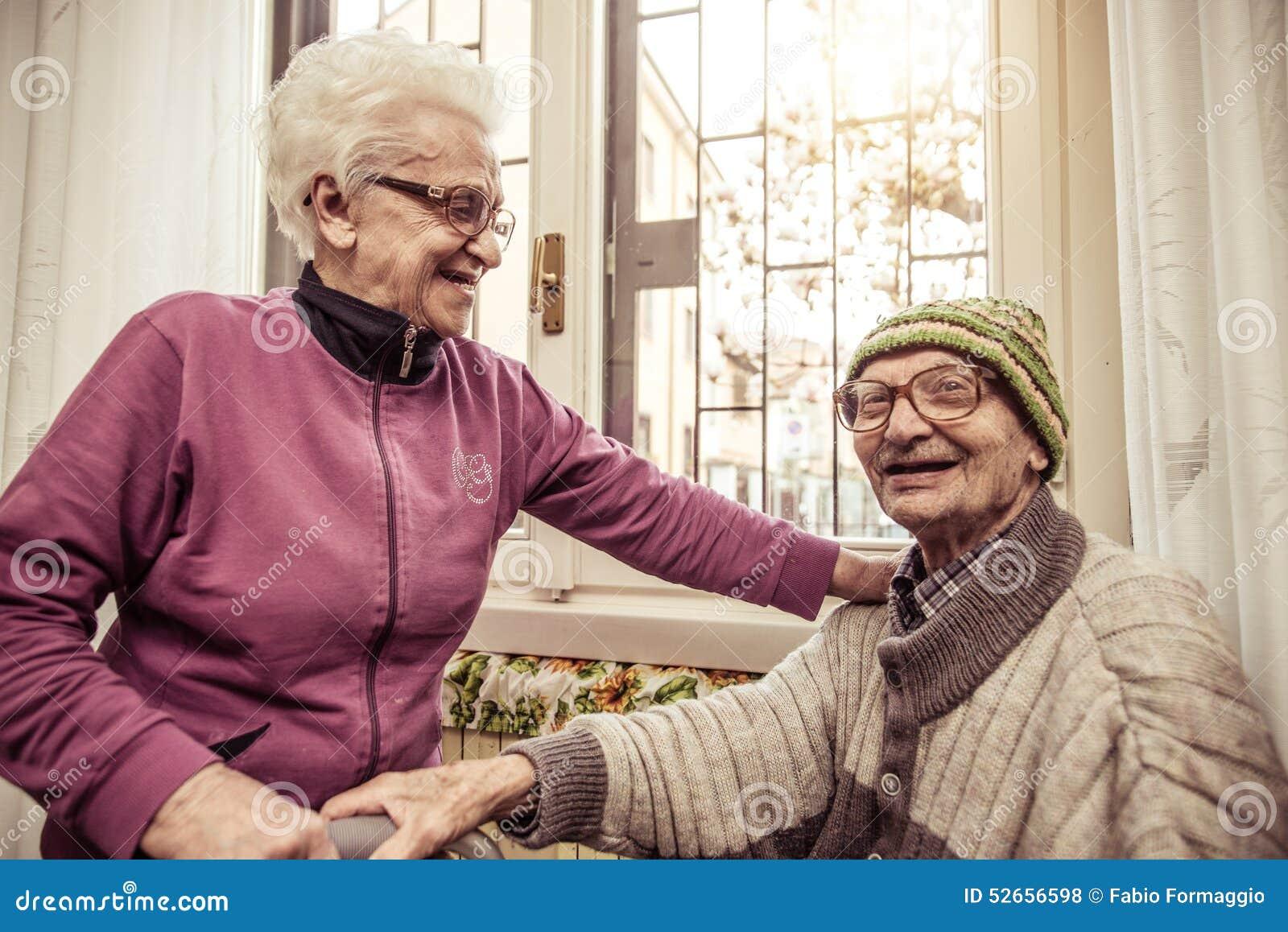 Alte Paare
