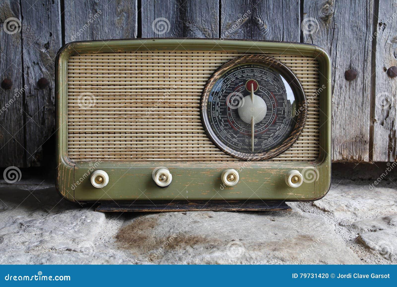Alte Radioweinlese