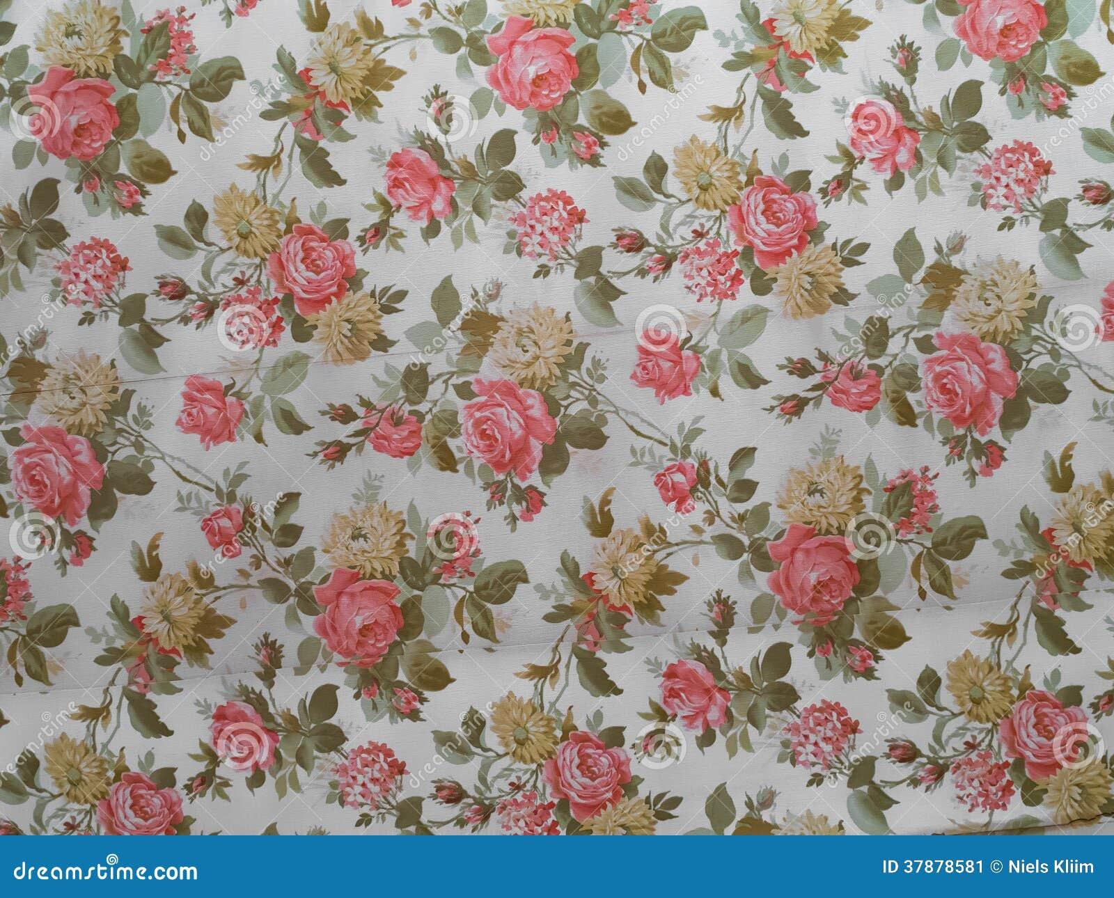 alte rose verzierte tapete stockbild bild 37878581. Black Bedroom Furniture Sets. Home Design Ideas
