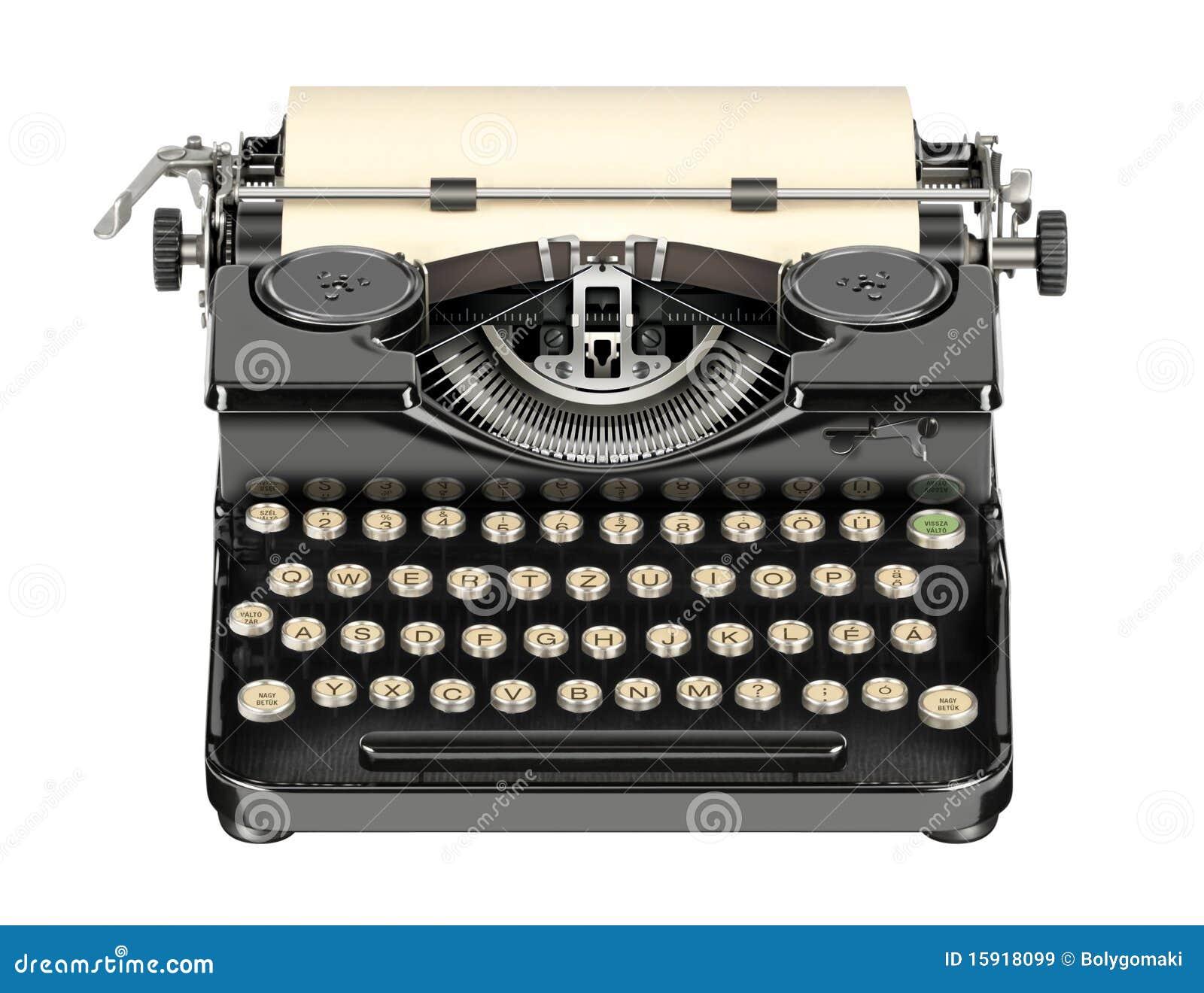 Vintage Schreibmaschinen Tastatur Fotos