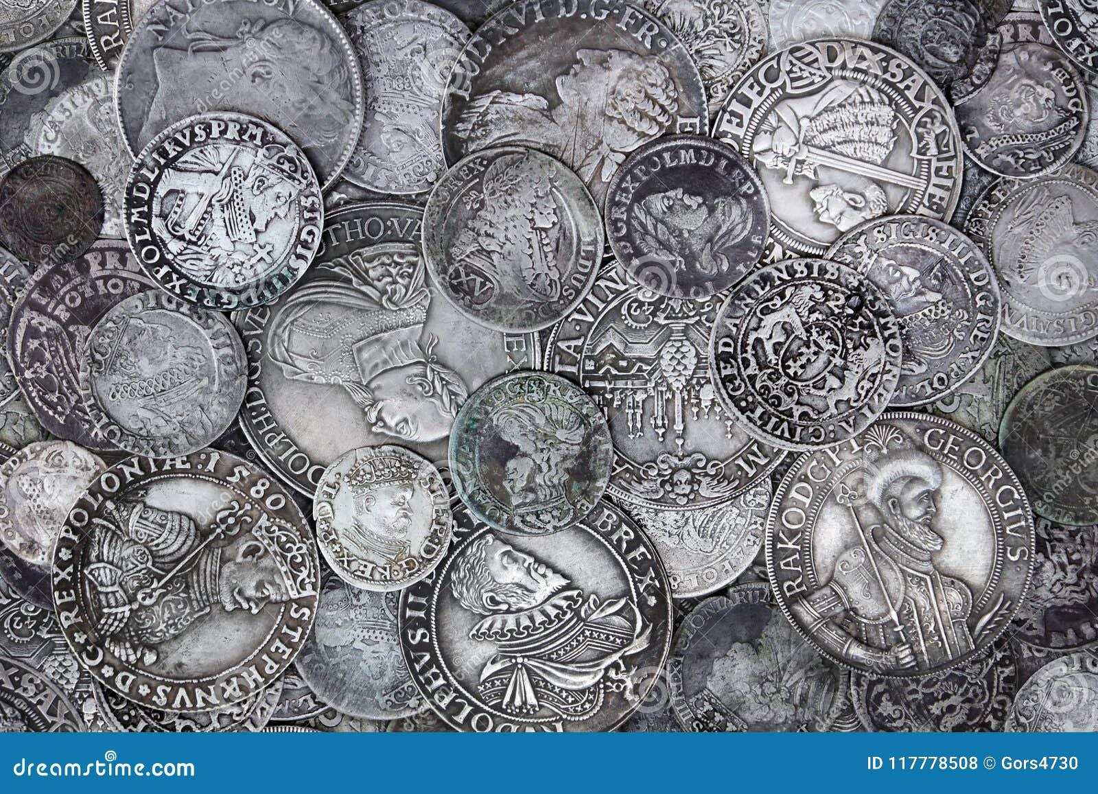 Alte Silbermünzen