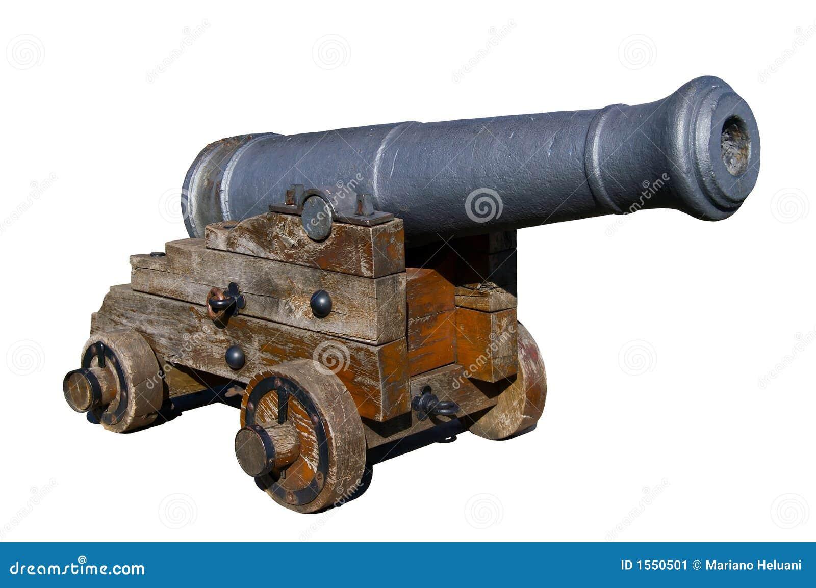 Alte Spanische Kanone Stockbild Bild Von Boot Piraten