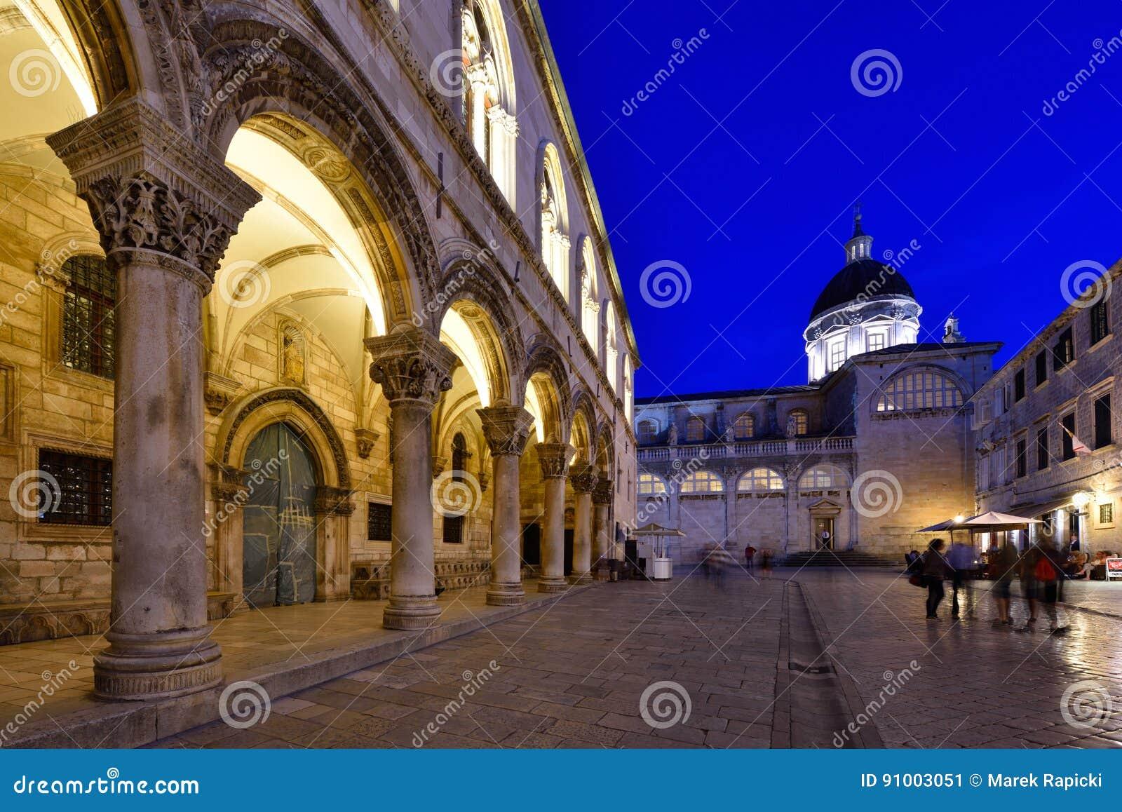 Alte Stadt DUBROVNIKS, KROATIEN - Dubrovniks
