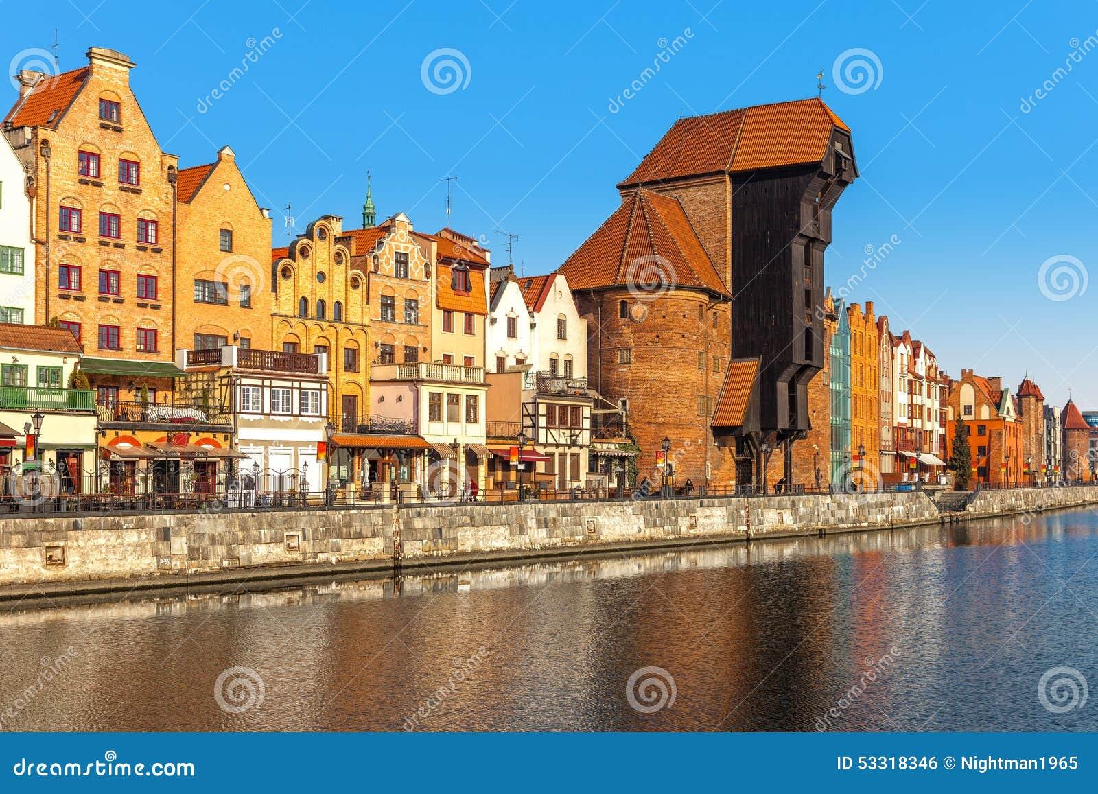 Alte Stadt in Gdansk