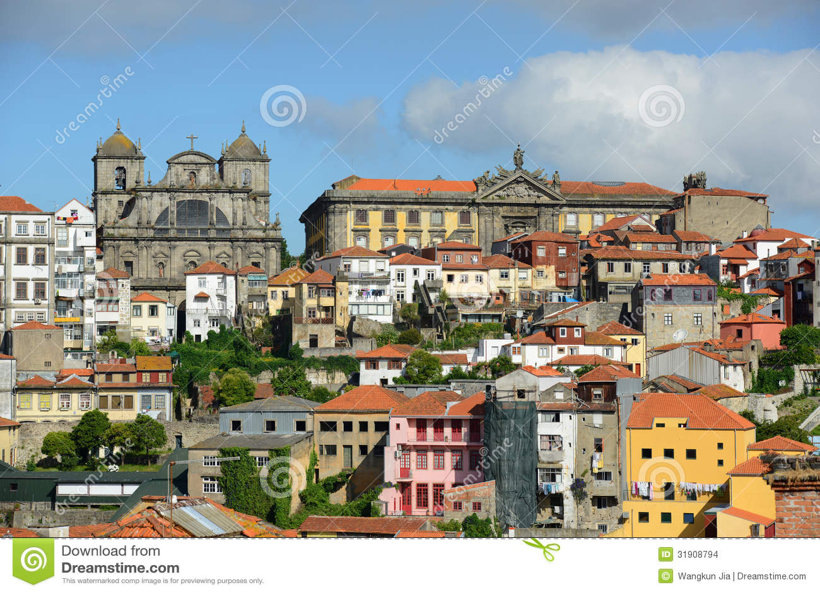 alte stadt porto portugal stockbilder bild 31908794. Black Bedroom Furniture Sets. Home Design Ideas