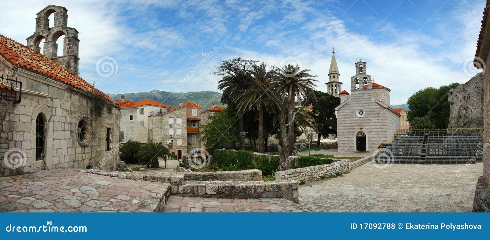 Alte Stadt von Budva. Montenegro.