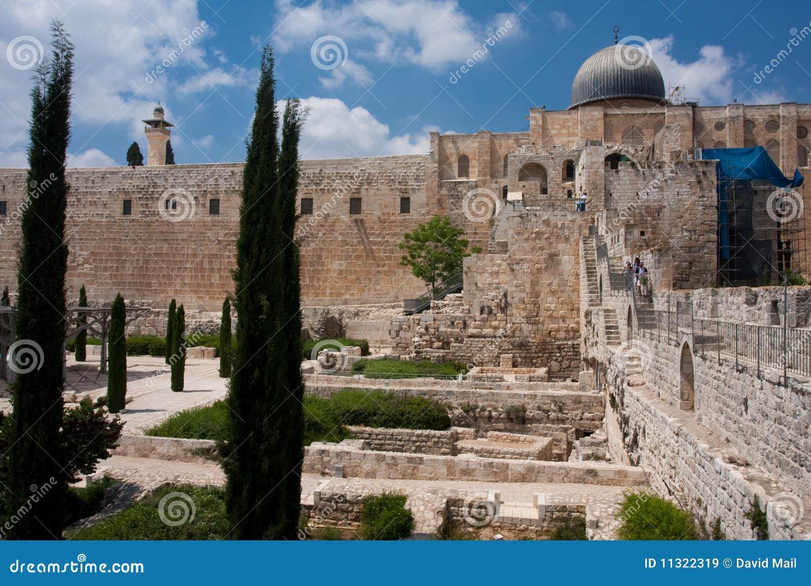 Alte Stadt von Jeruslaem, Tempel-Montierung