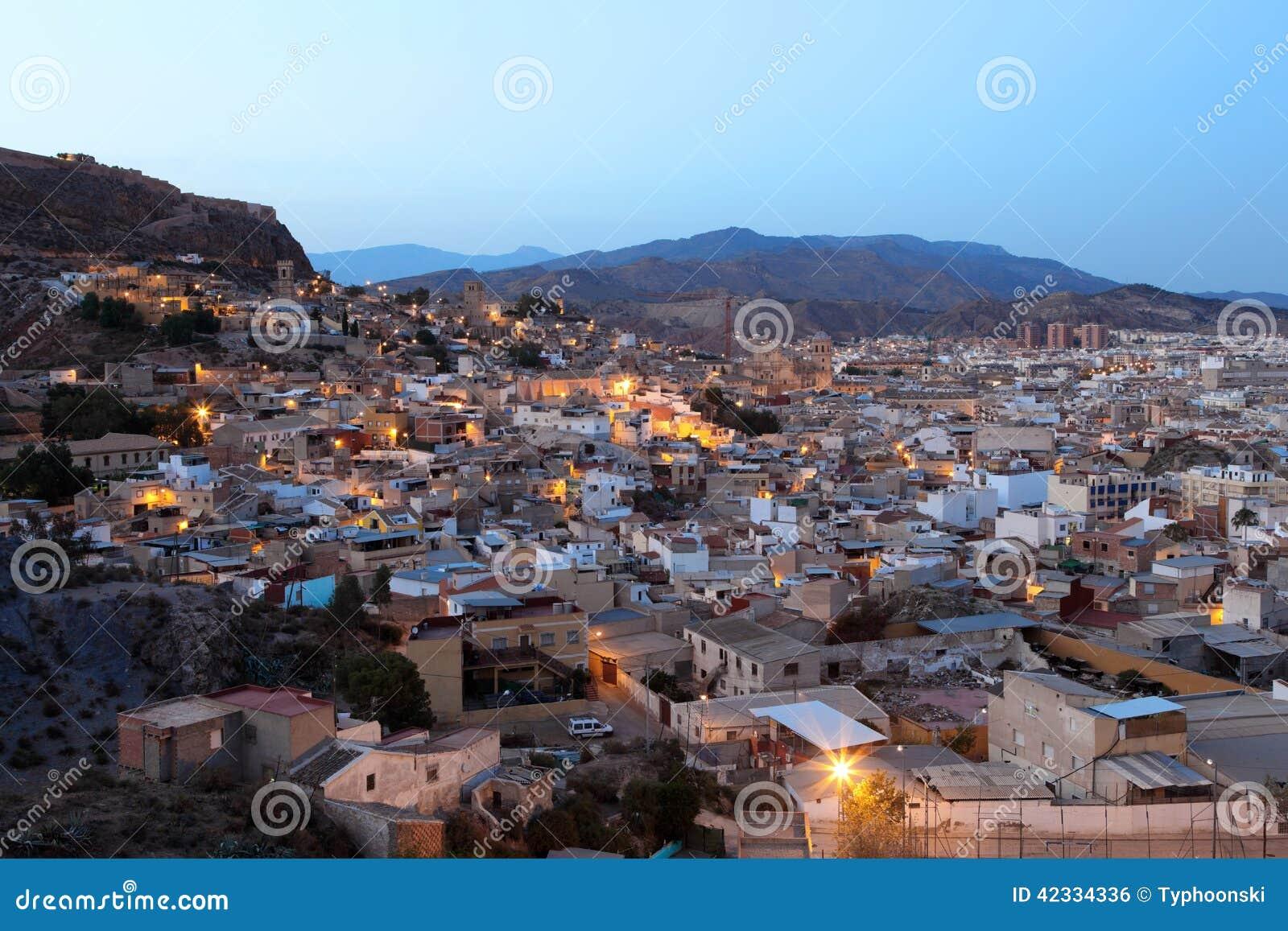 Alte stadt von lorca provinz von murcia spanien - Lorca murcia fotos ...