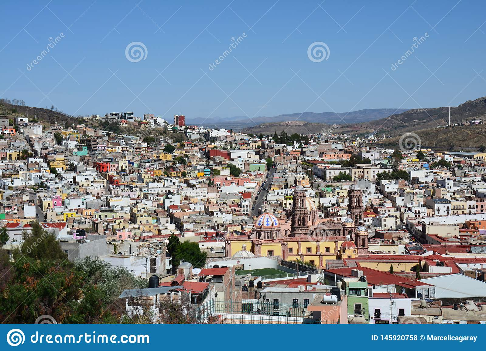 Alte Stadt Zacatecas in Mexiko