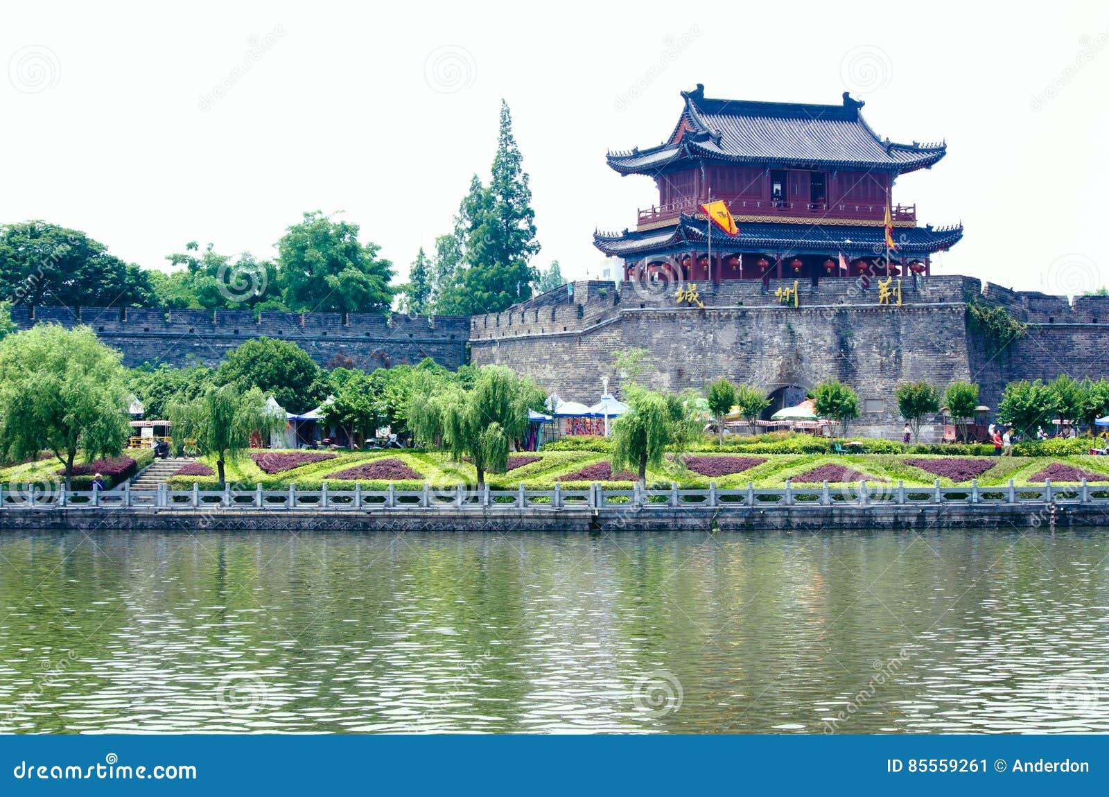 Alte Stadtmauer Jingzhous