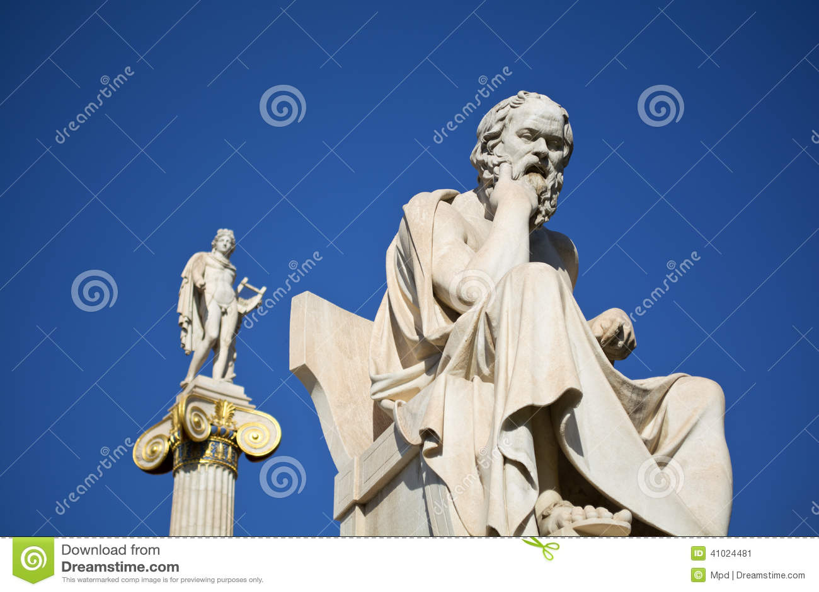 Alte Statuen