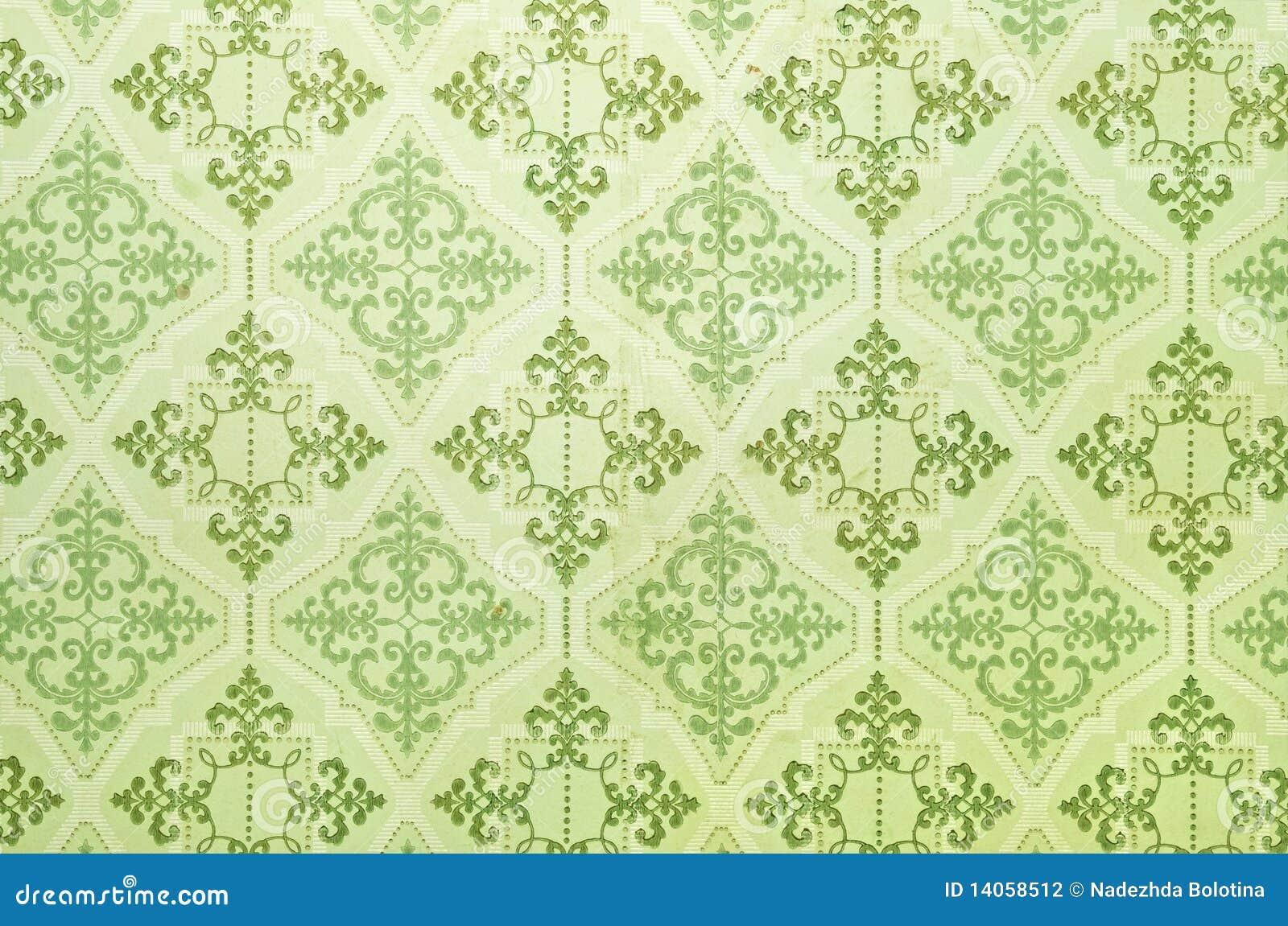 alte tapete stockfotografie bild 14058512. Black Bedroom Furniture Sets. Home Design Ideas