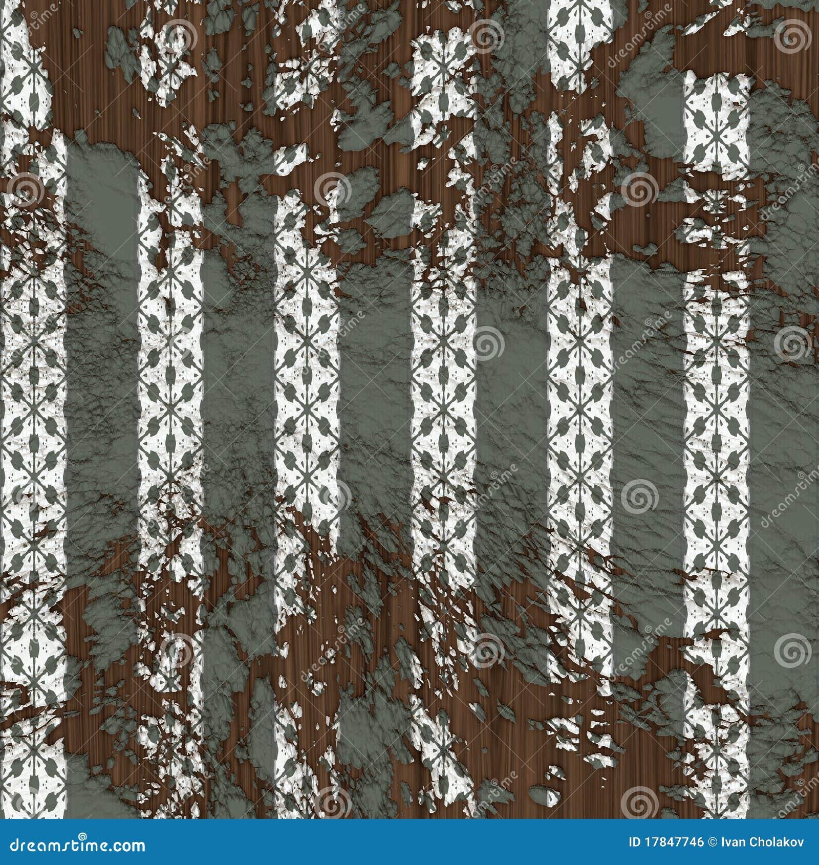 alte tapete lizenzfreies stockbild bild 17847746. Black Bedroom Furniture Sets. Home Design Ideas
