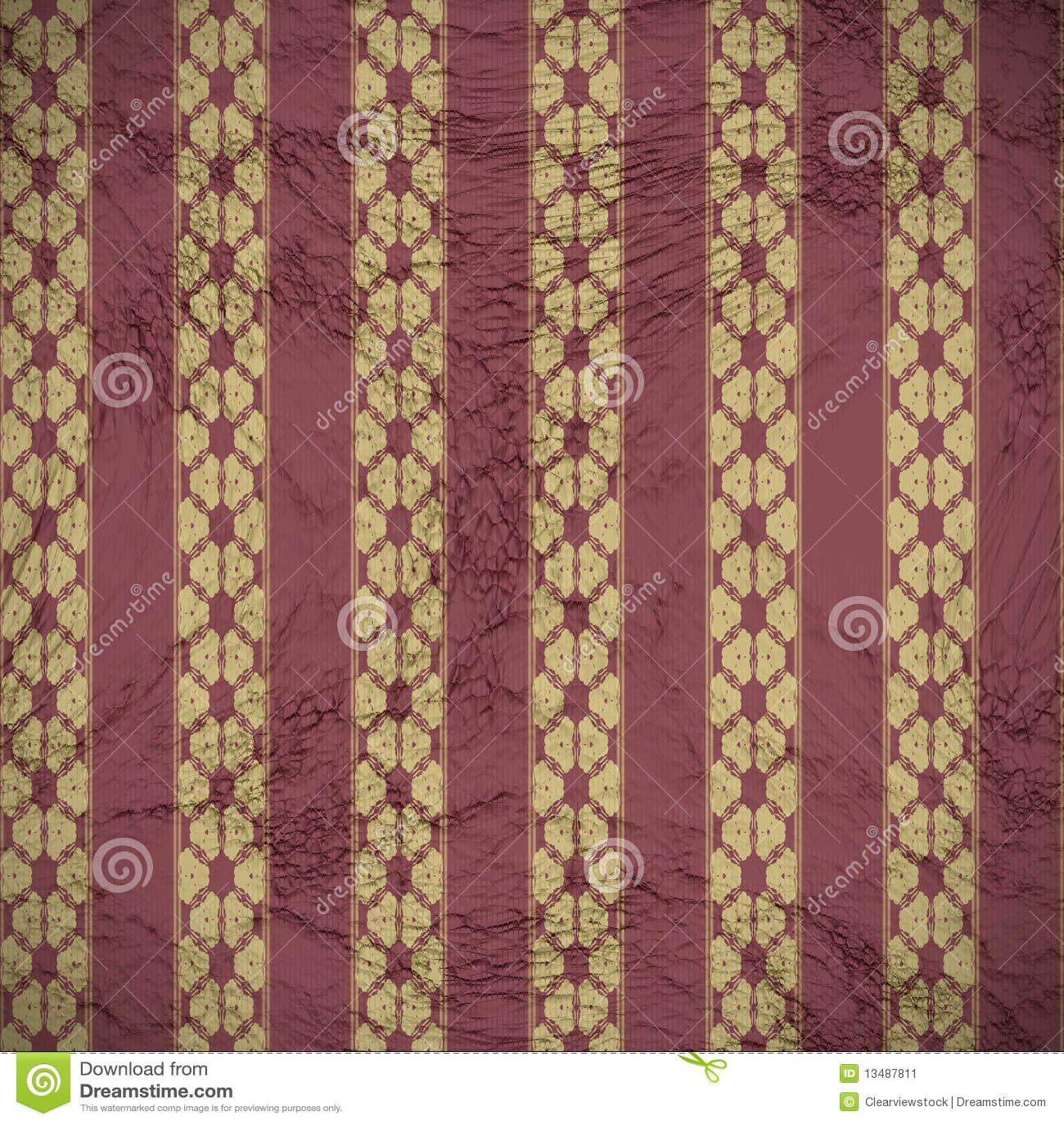 alte tapete auf der wand stockbild bild 13487811. Black Bedroom Furniture Sets. Home Design Ideas