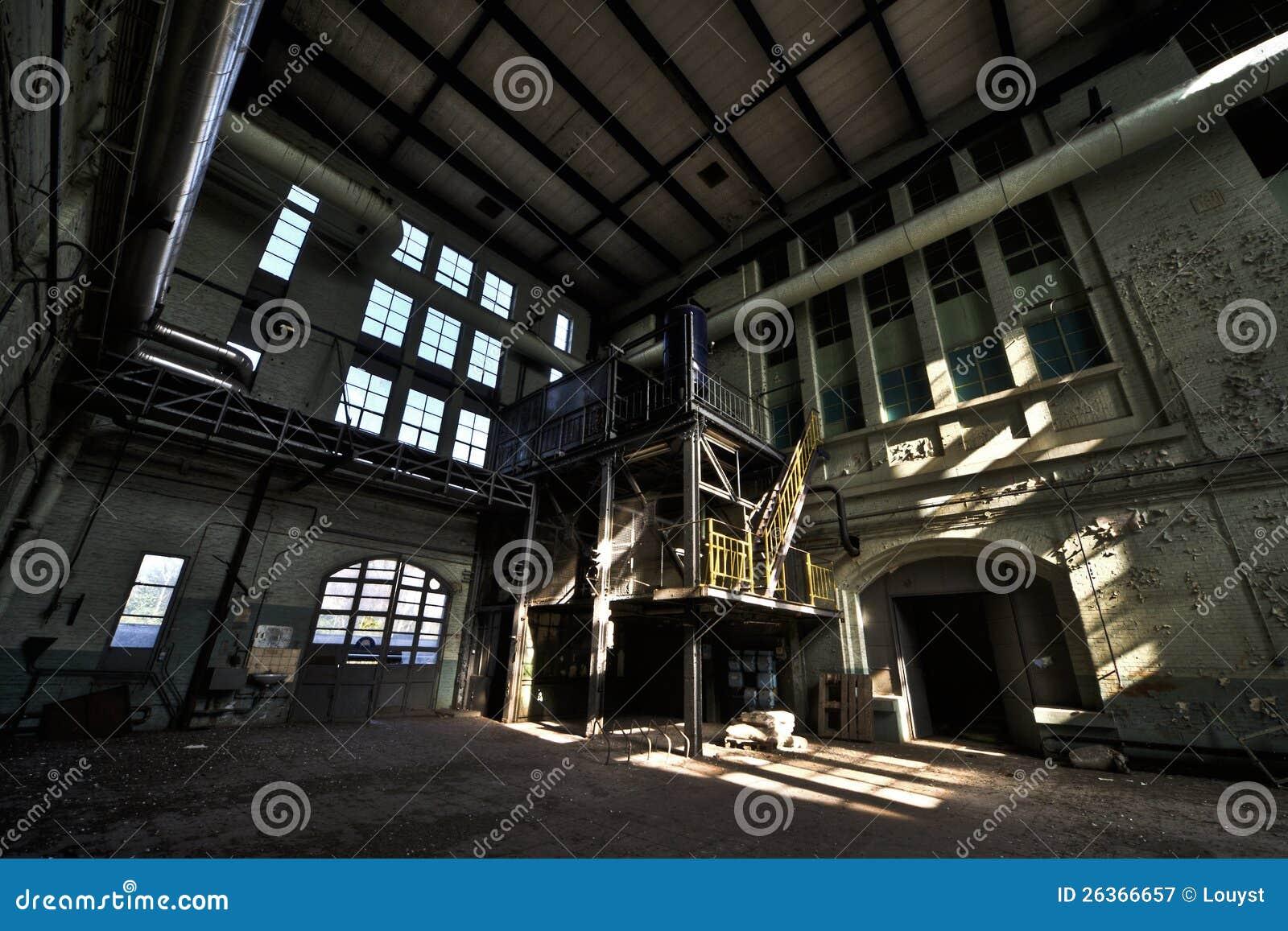 Alte Triebwerkanlage