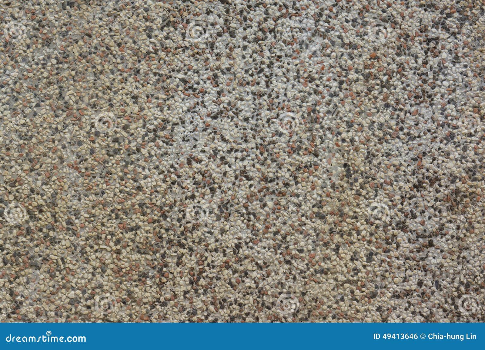Download Alte Und Verwitterte Steinwand Hergestellt Vom Kies Von Weißen, Grauen, Schwarzen Und Roten Farben Stockfoto - Bild von gemasert, hintergrund: 49413646