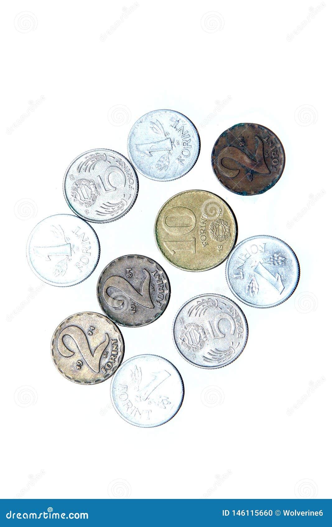 Alte, ungültige Münzen von Ungarn