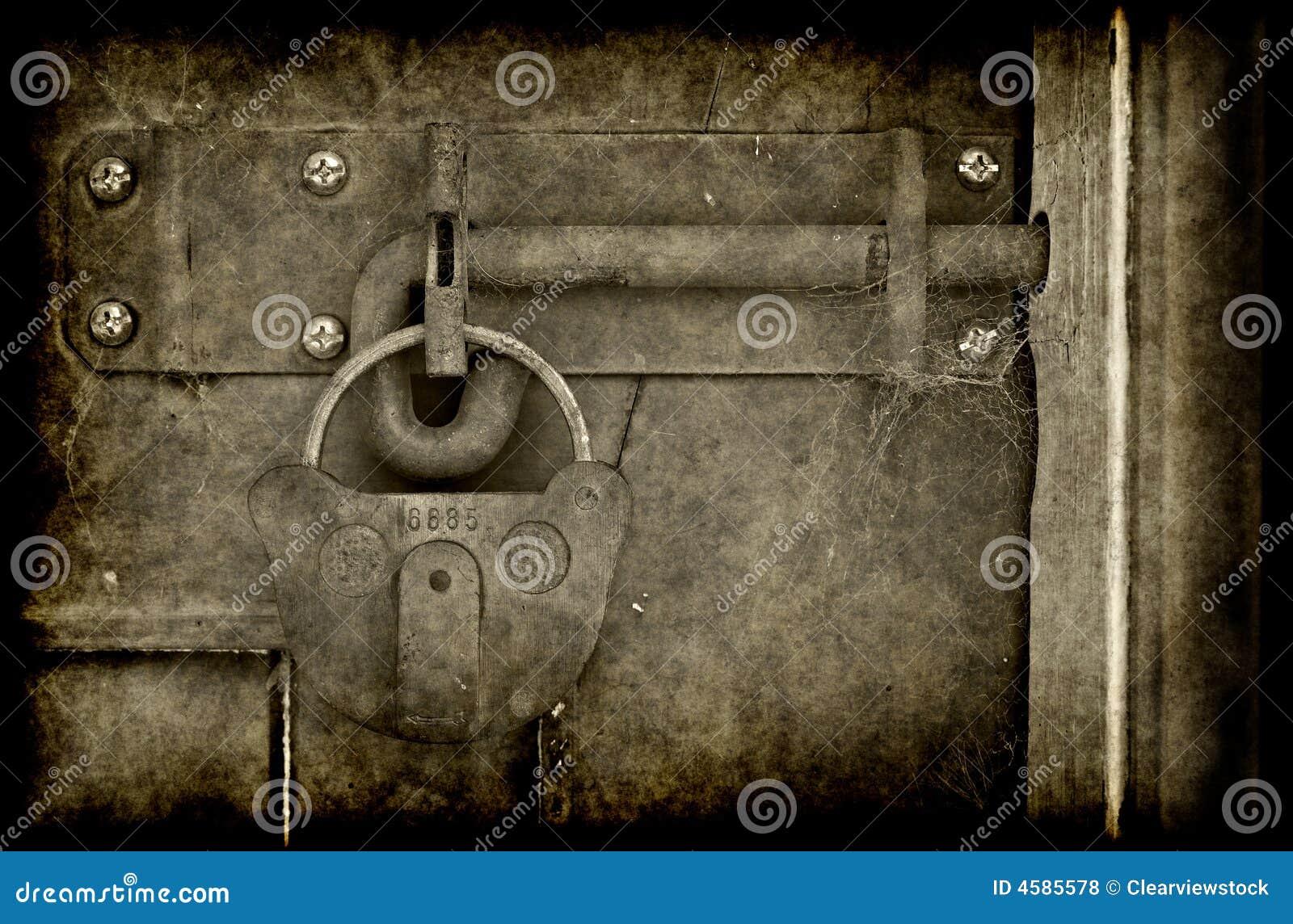 Verschlossene tür  Alte Verschlossene Tür Im Grunge Lizenzfreie Stockfotos - Bild ...