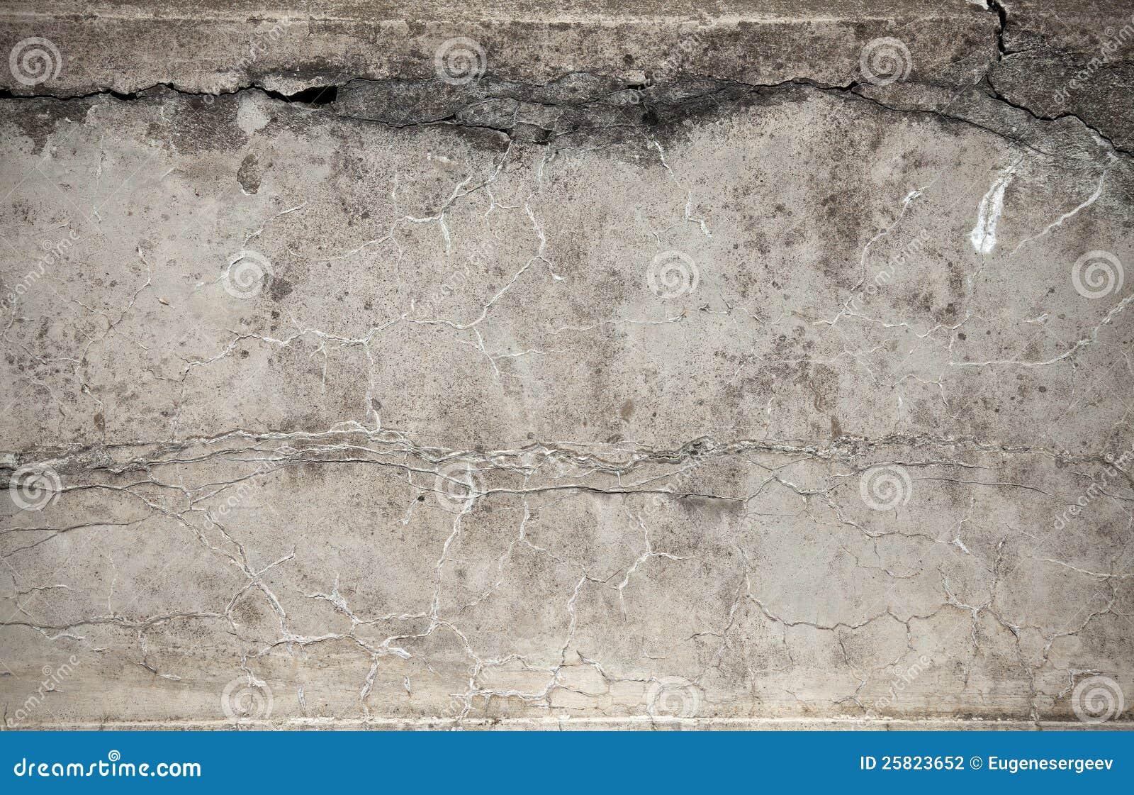 Alte verwitterte Betonmauerbeschaffenheit