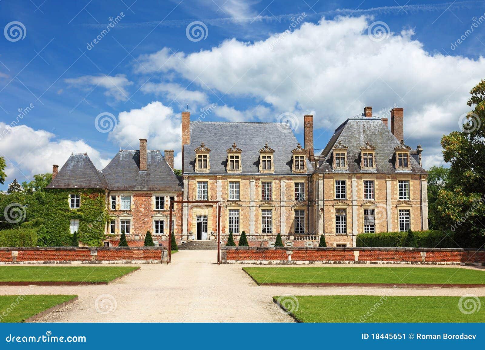 alte villa in frankreich stockbild bild 18445651