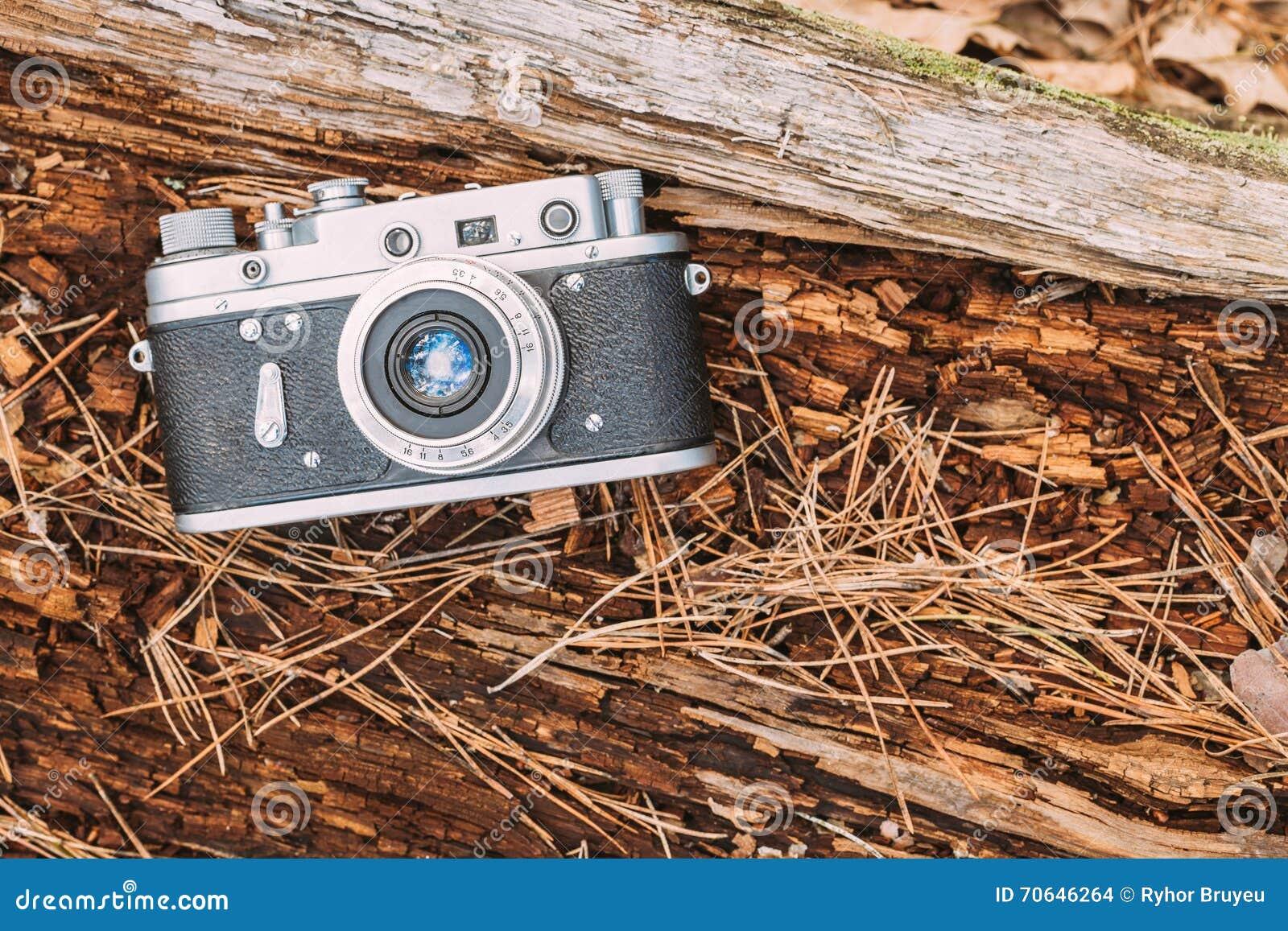 Alte weinlese entfernungsmesser kamera 1950 1960s stockfoto bild