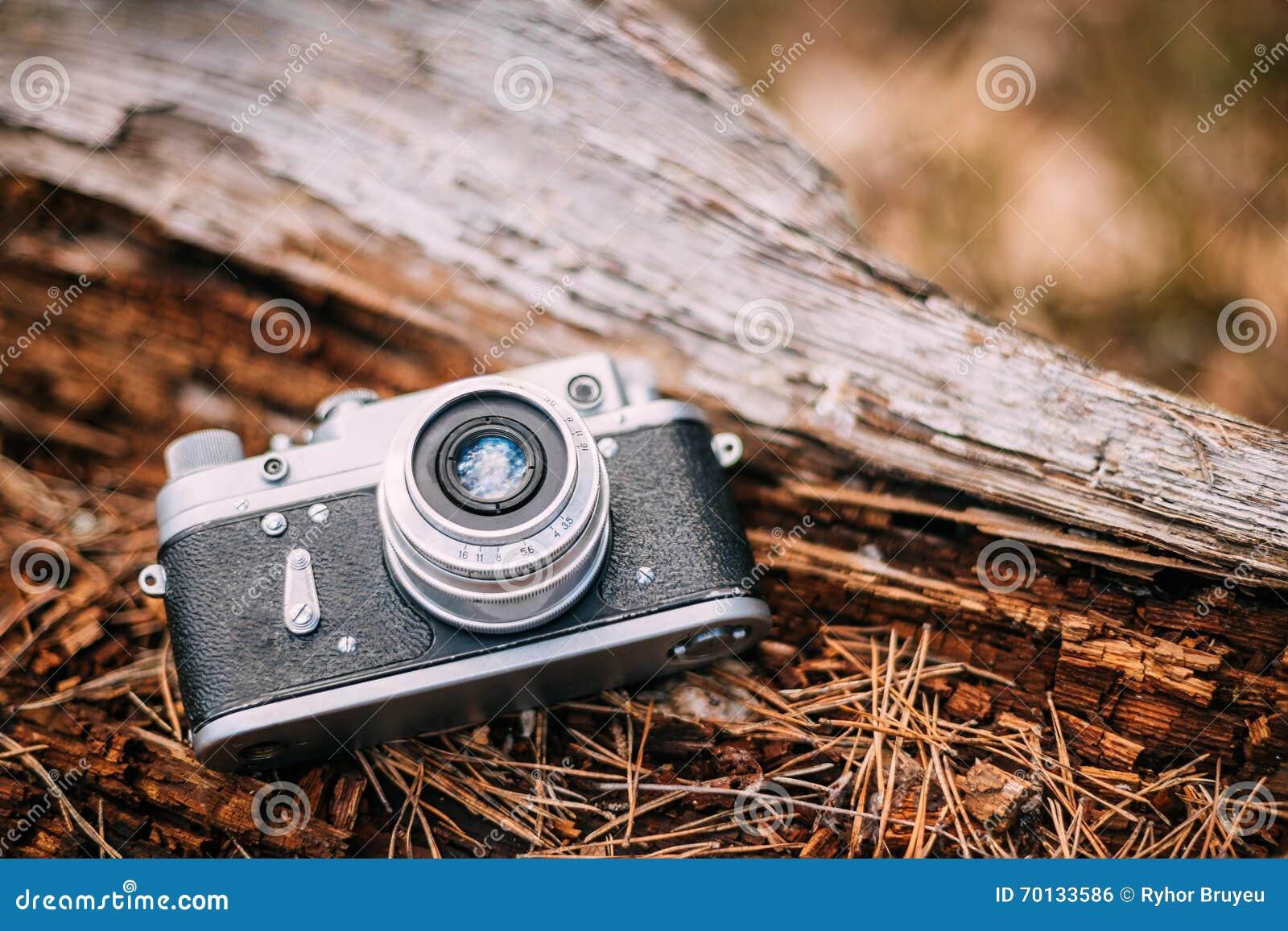 Alte weinlese klein format entfernungsmesser kamera s