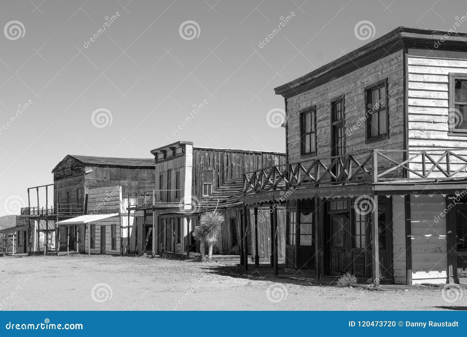 Alte wilde Weststadtfilmbühne in Arizona