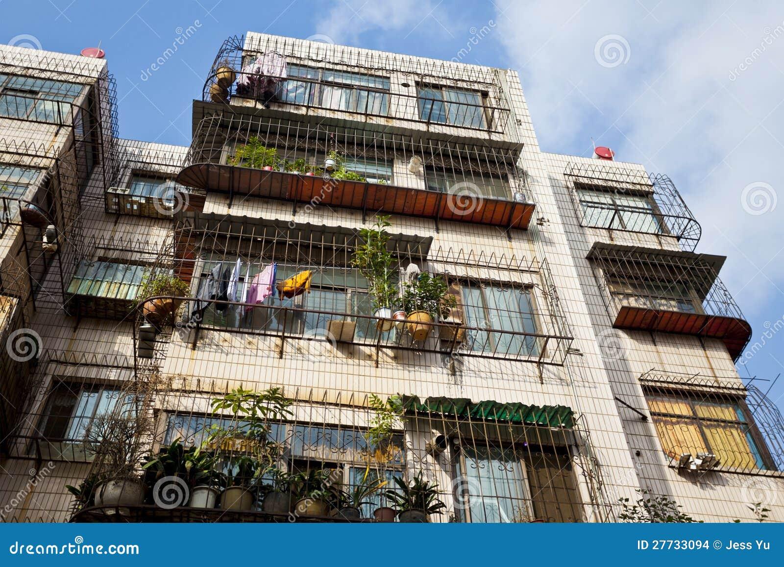 Alte Wohnungen in China
