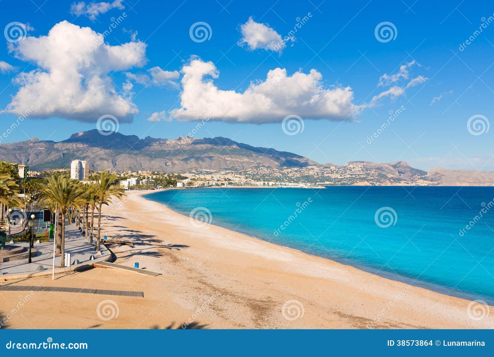 Oppdatert Altea Playa Del Albir Of White Stones In Alicante Stock Photo VY-14