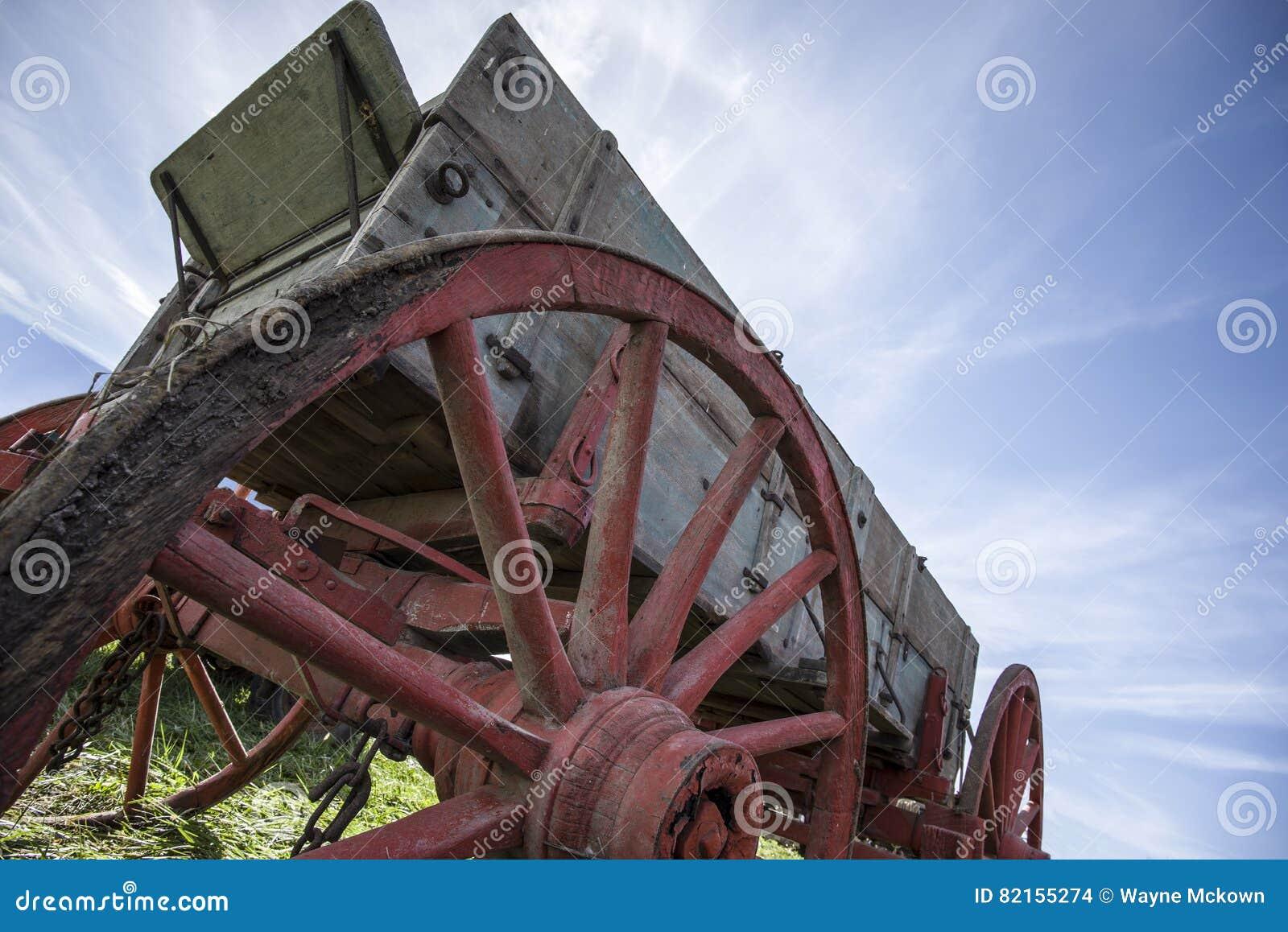 Alter Bauernhoflastwagen