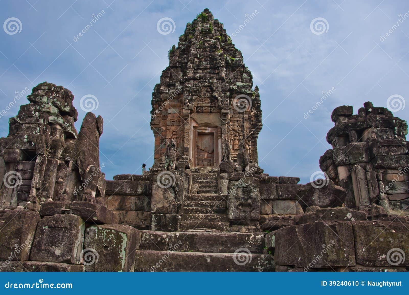 Alter buddhistischer Khmertempel