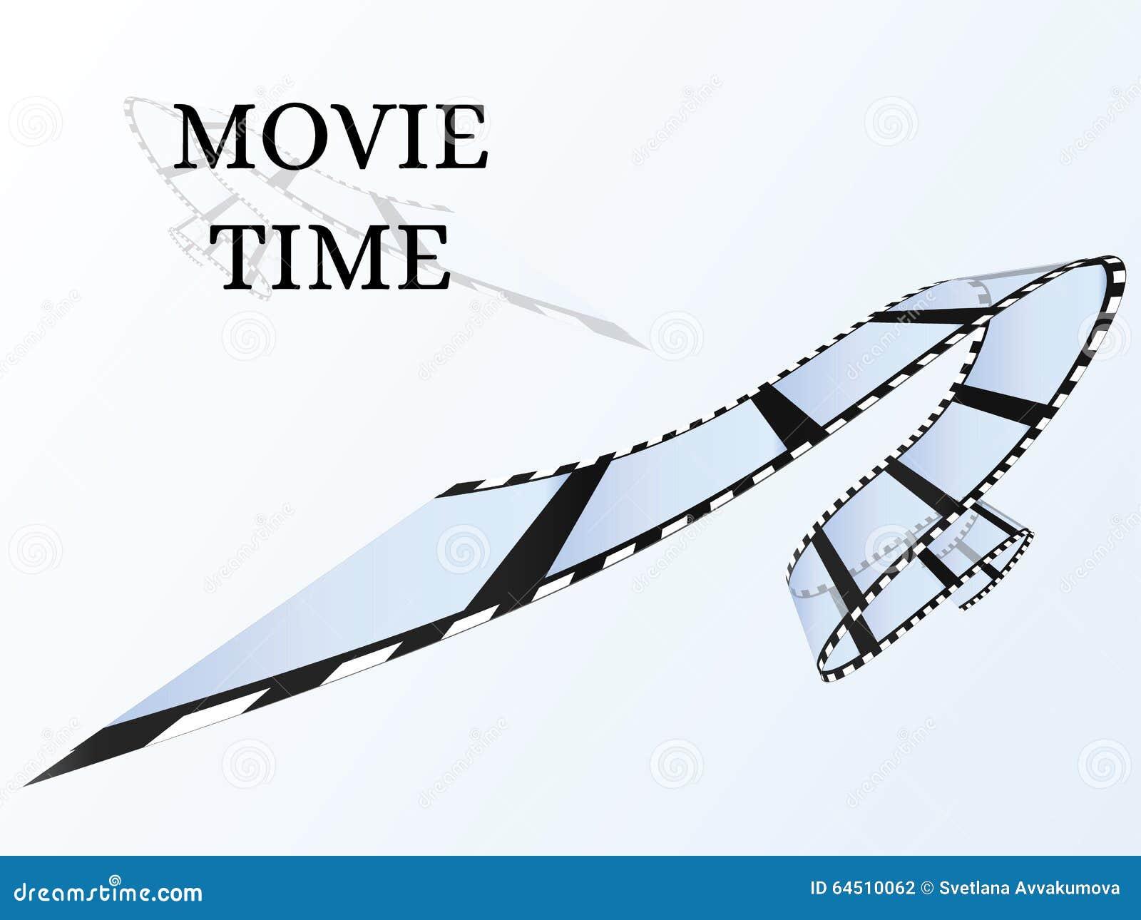 Alter Film-Streifen Heller Hintergrund