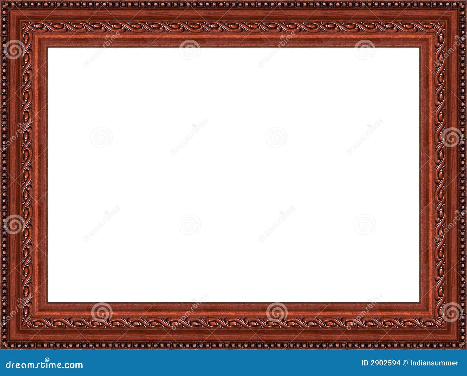 Alter Holzrahmen stockfoto. Bild von foto, retro, auslegung - 2902594