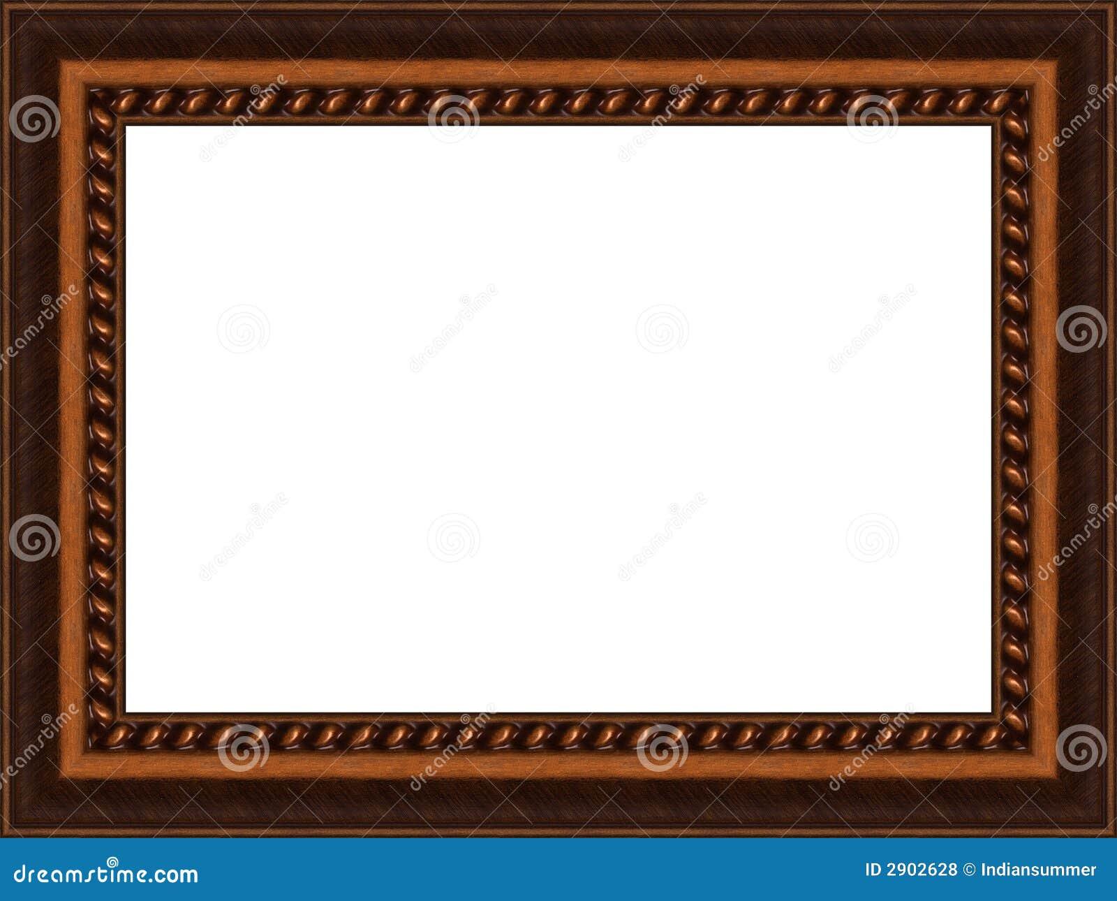 Alter Holzrahmen stockfoto. Bild von weinlese, hintergrund - 2902628