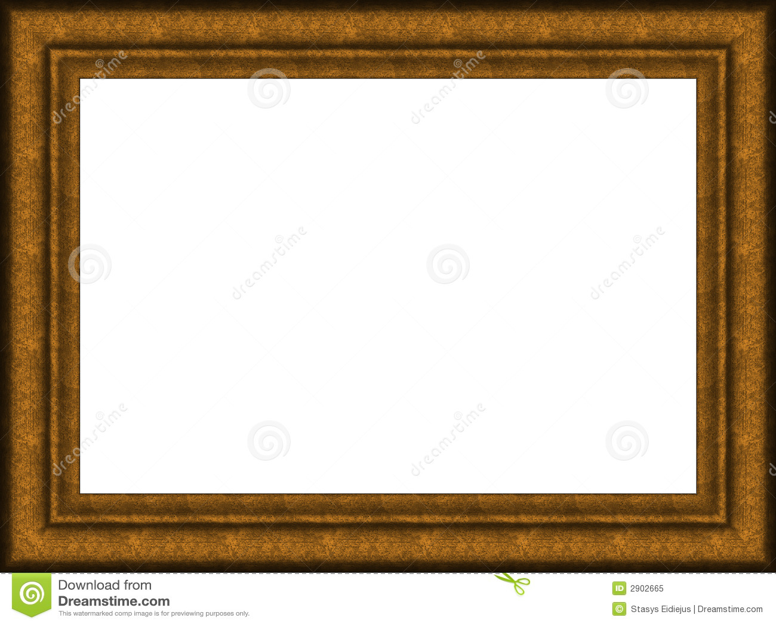 Alter Holzrahmen stockbild. Bild von bild, muster, retro - 2902665