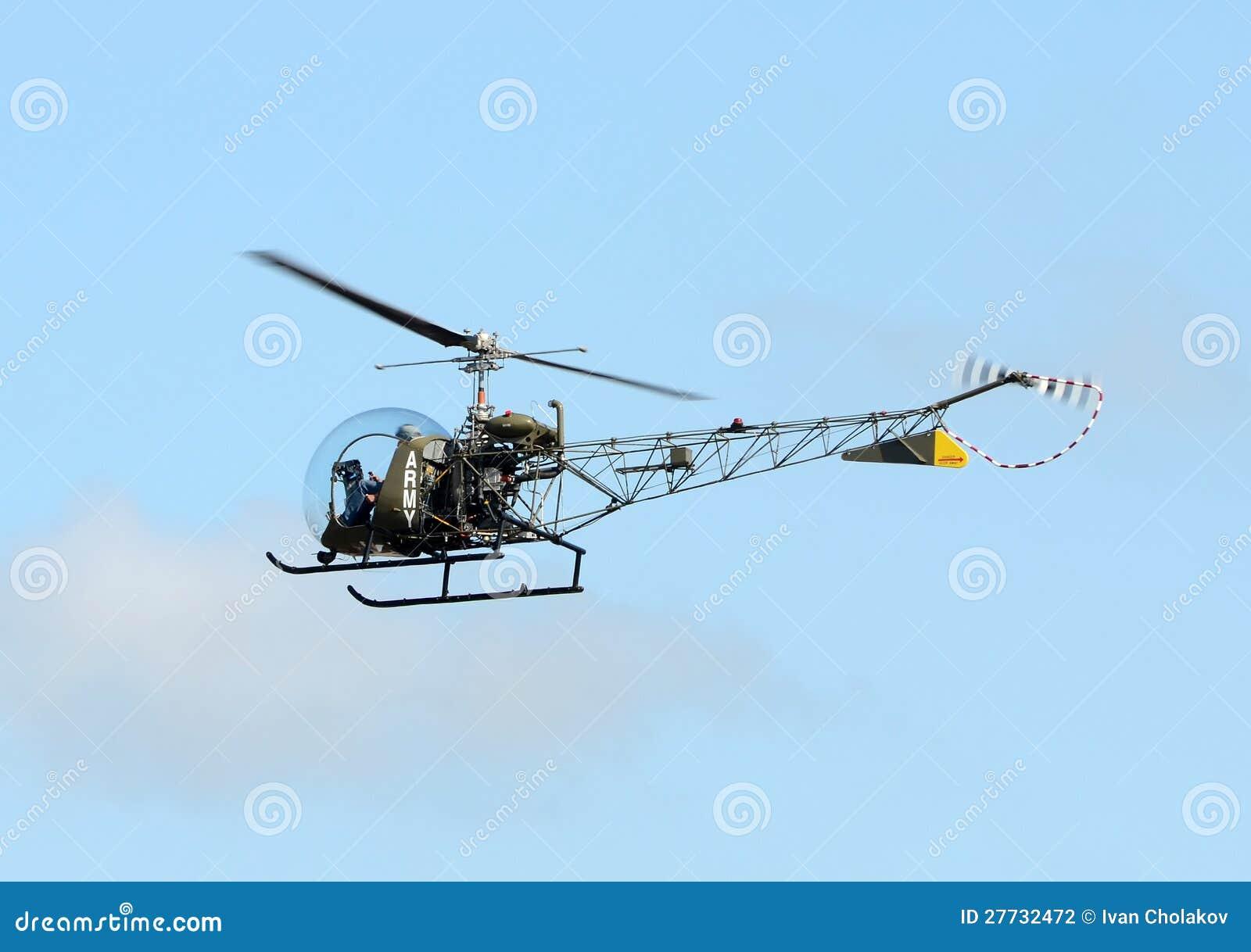 Alter Hubschrauber