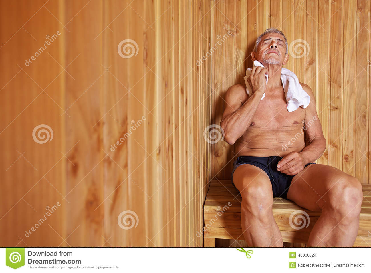 The sauna time will be boiled