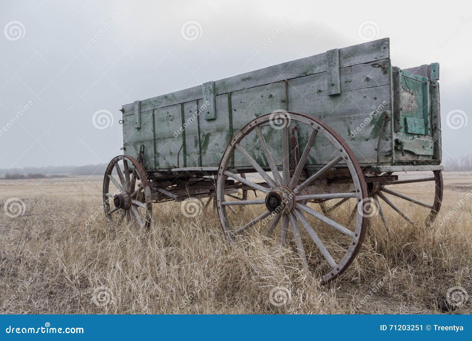 Alter Pferdenwagen