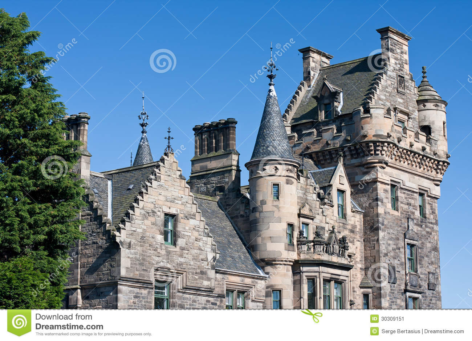 Arcitecture von Edinburgh