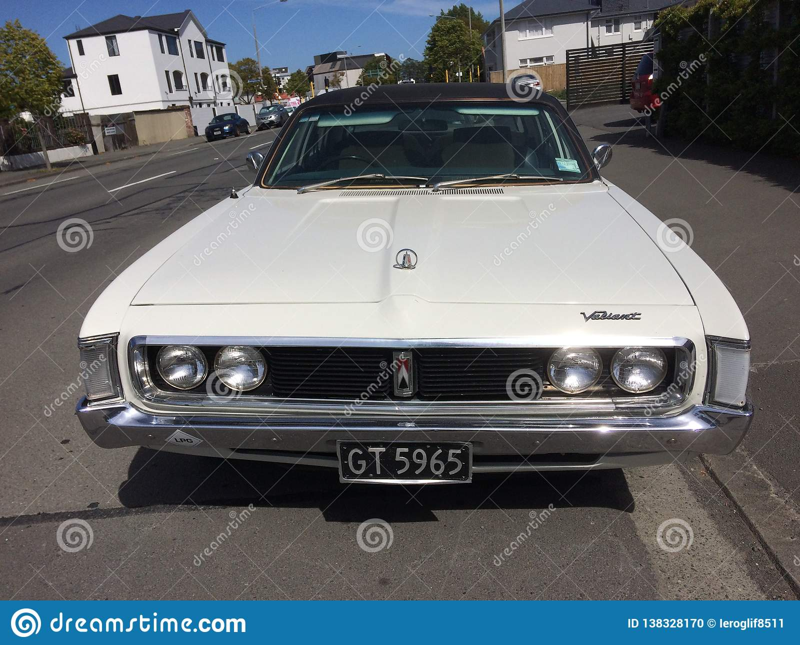 Alter Timer mutige königliche 1975 Chryslers