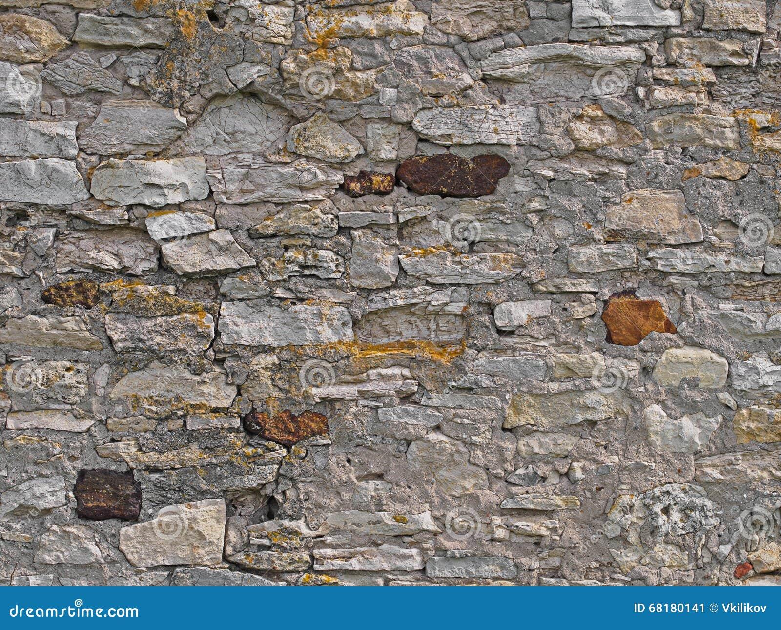 alter ziegelsteinsteinwandhintergrund, ländliches mittelmeer legen