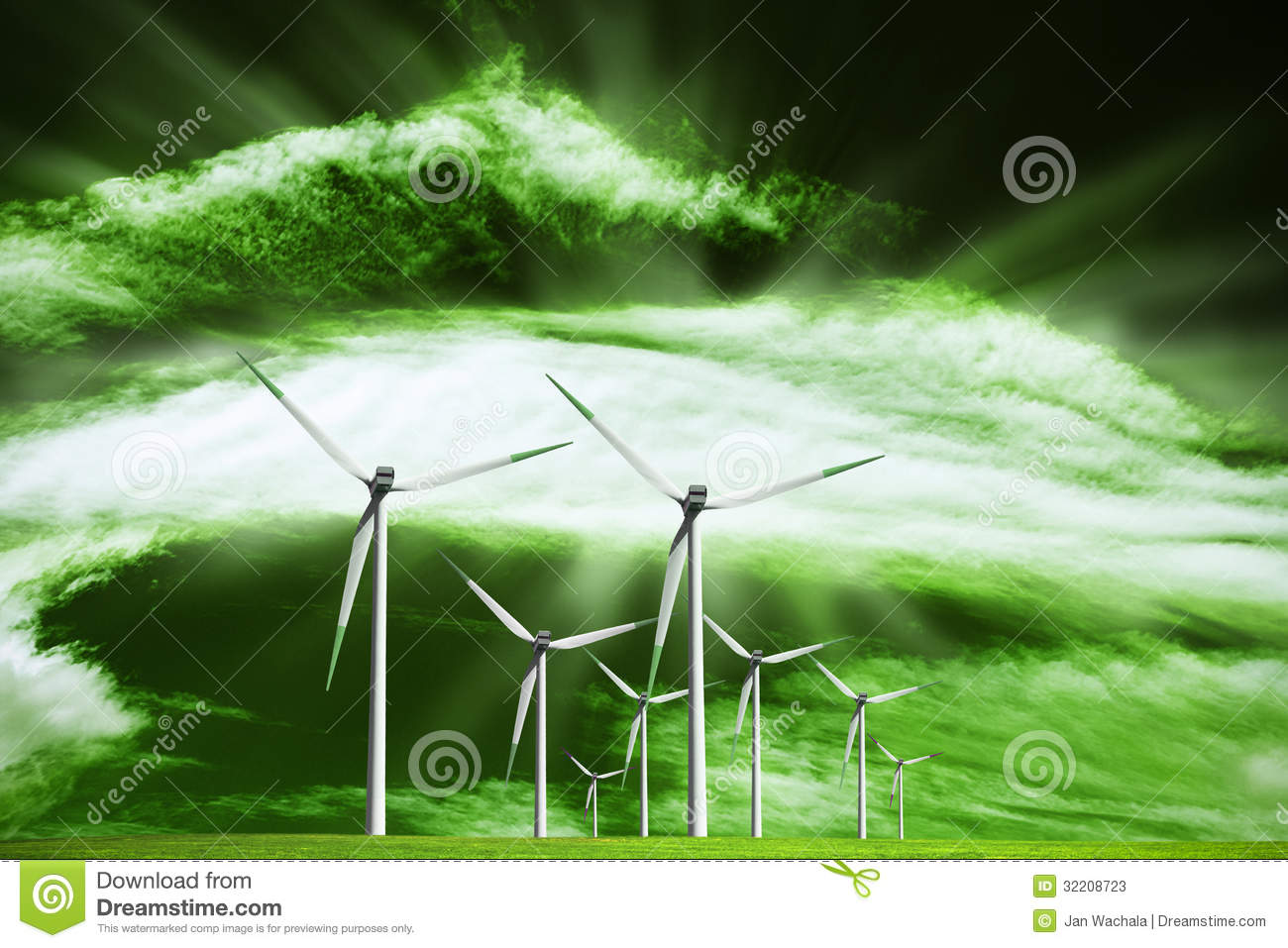 Alternative Ecological Source Of Energy Stock Photos - Image: 32208723
