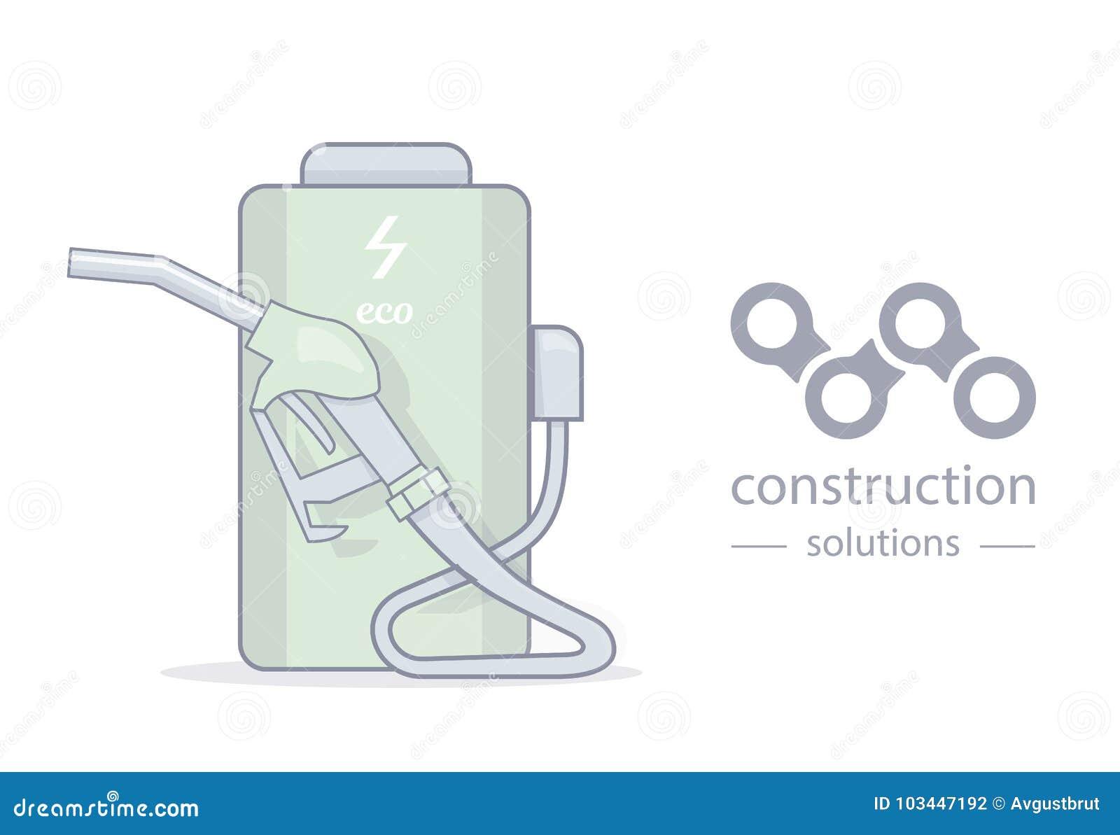 Alternative Energie und kreatives Logo