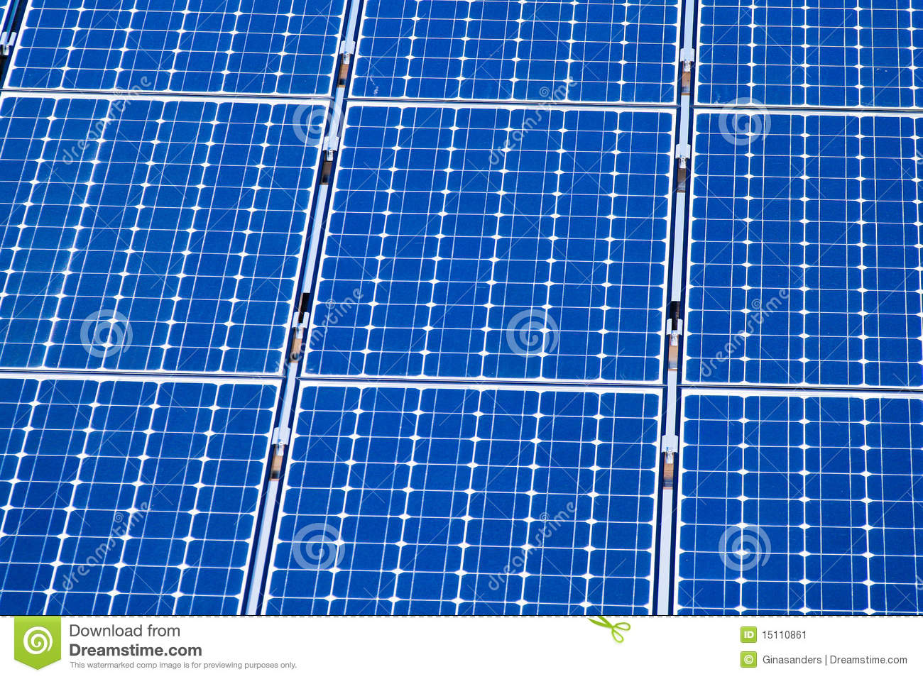 Alternative Solar Energy. Solar Power Plant. Stock Image - Image ...